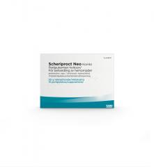 SCHERIPROCT NEO KOMBI YHDISTELMÄPAKKAUS peräpuikko ja rektaalivoide 15+30 g