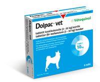 DOLPAC VET TABLETIT KESKIKOKOISILLE KOIRILLE 200,28/49,94/50 mg tabl (3-30 kg)6 fol