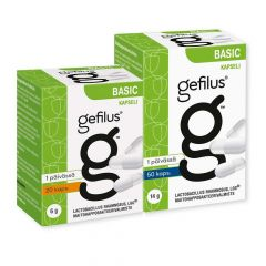 Gefilus Basic 50+20 kampanjapakkaus 70 kaps